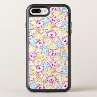 Capa Para iPhone 8 Plus/7 Plus OtterBox Symmetry Sr. Homem & teste padrão pequeno das cores do néon