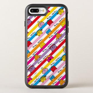 Capa Para iPhone 8 Plus/7 Plus OtterBox Symmetry Sr. Homem & teste padrão pequeno das listras do