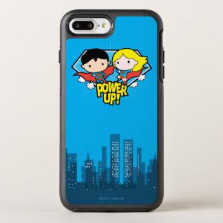 Capa Para iPhone 8 Plus/7 Plus OtterBox Symmetry Superman de Chibi & poder de Chibi Supergirl