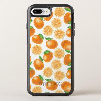 Capa Para iPhone 8 Plus/7 Plus OtterBox Symmetry Tangerinas da aguarela