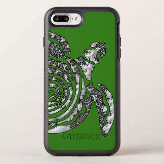 Capa Para iPhone 8 Plus/7 Plus OtterBox Symmetry Tartaruga da fantasia 3 D