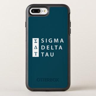 Capa Para iPhone 8 Plus/7 Plus OtterBox Symmetry Tau | do delta do Sigma empilhado