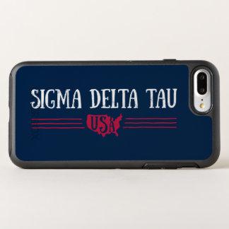 Capa Para iPhone 8 Plus/7 Plus OtterBox Symmetry Tau | EUA do delta do Sigma
