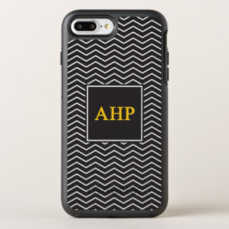 Capa Para iPhone 8 Plus/7 Plus OtterBox Symmetry Teste padrão alfa do ró | Chevron de Eta