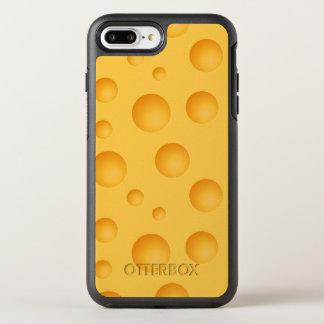 Capa Para iPhone 8 Plus/7 Plus OtterBox Symmetry Teste padrão amarelo do queijo