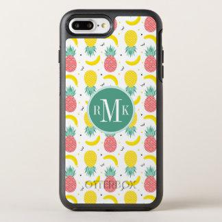 Capa Para iPhone 8 Plus/7 Plus OtterBox Symmetry Teste padrão colorido da fruta tropical