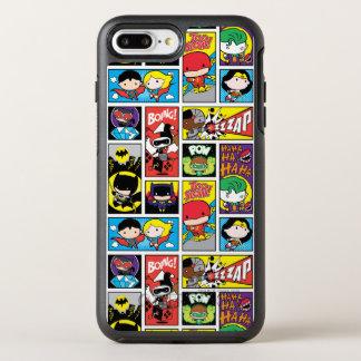 Capa Para iPhone 8 Plus/7 Plus OtterBox Symmetry Teste padrão da compilação da liga de justiça de