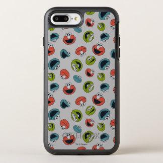 Capa Para iPhone 8 Plus/7 Plus OtterBox Symmetry Teste padrão da equipe do Sesame Street | All Star