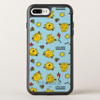 Capa Para iPhone 8 Plus/7 Plus OtterBox Symmetry Teste padrão de bolinhas pequeno da cerceta da