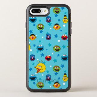 Capa Para iPhone 8 Plus/7 Plus OtterBox Symmetry Teste padrão de estrela dos melhores amigos do