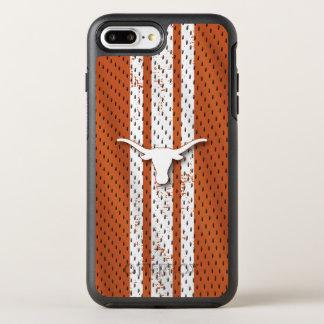 Capa Para iPhone 8 Plus/7 Plus OtterBox Symmetry Teste padrão do jérsei dos Longhorns da