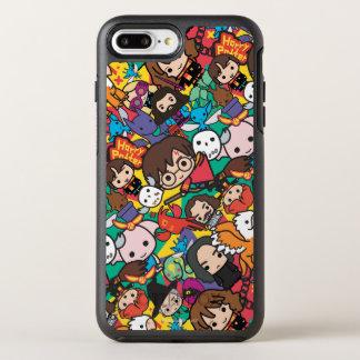Capa Para iPhone 8 Plus/7 Plus OtterBox Symmetry Teste padrão do lance do caráter de Harry Potter