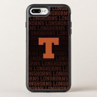 Capa Para iPhone 8 Plus/7 Plus OtterBox Symmetry Teste padrão do logotipo da Universidade do Texas