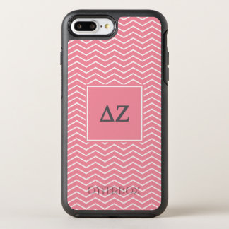 Capa Para iPhone 8 Plus/7 Plus OtterBox Symmetry Teste padrão do Zeta | Chevron do delta