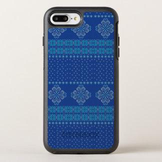 Capa Para iPhone 8 Plus/7 Plus OtterBox Symmetry Teste padrão feito malha Natal