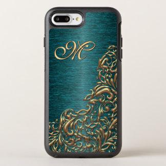 Capa Para iPhone 8 Plus/7 Plus OtterBox Symmetry Teste padrão floral barroco chique bonito feito