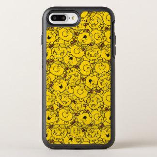 Capa Para iPhone 8 Plus/7 Plus OtterBox Symmetry Teste padrão pequeno dos sorrisos do amarelo do
