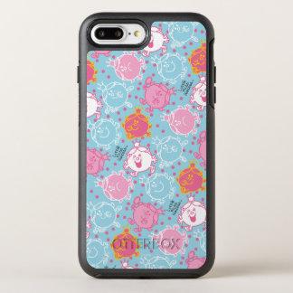 Capa Para iPhone 8 Plus/7 Plus OtterBox Symmetry Testes padrões cor-de-rosa da senhorita princesa |