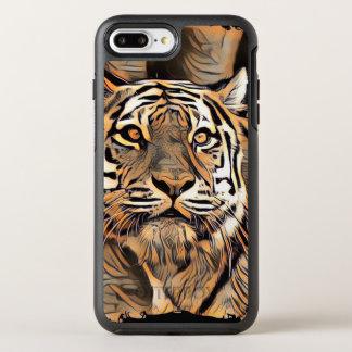 Capa Para iPhone 8 Plus/7 Plus OtterBox Symmetry Tigre 3 de ArtAnimal