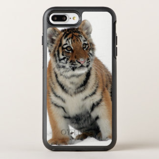 Capa Para iPhone 8 Plus/7 Plus OtterBox Symmetry Tigre Cub na neve
