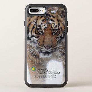 Capa Para iPhone 8 Plus/7 Plus OtterBox Symmetry Tigre Damai de Smithsonian | Sumatran