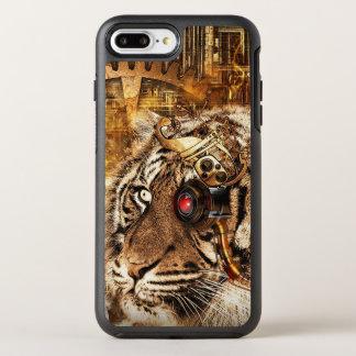 Capa Para iPhone 8 Plus/7 Plus OtterBox Symmetry Tigre de Steampunk