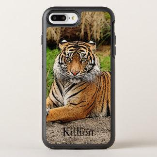 Capa Para iPhone 8 Plus/7 Plus OtterBox Symmetry Tigre e nome