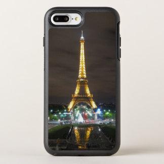 Capa Para iPhone 8 Plus/7 Plus OtterBox Symmetry Torre Eiffel na noite, Paris