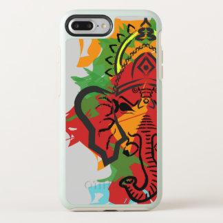 Capa Para iPhone 8 Plus/7 Plus OtterBox Symmetry Trabalhos de arte de Ganesha