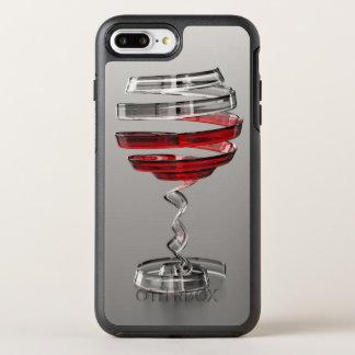 Capa Para iPhone 8 Plus/7 Plus OtterBox Symmetry Vidro de vinho estranho