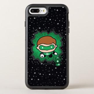 Capa Para iPhone 8 Plus/7 Plus OtterBox Symmetry Vôo verde da lanterna de Chibi através do espaço