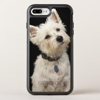 Capa Para iPhone 8 Plus/7 Plus OtterBox Symmetry Westie (terrier ocidental das montanhas) com colar