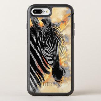 Capa Para iPhone 8 Plus/7 Plus OtterBox Symmetry #zebra da zebra