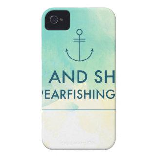 Capa Para iPhone A elevação e brilha-o é tempo de Spearfishing