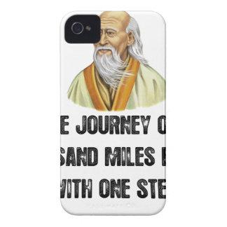 Capa Para iPhone a viagem de mil milhas começa com um canto