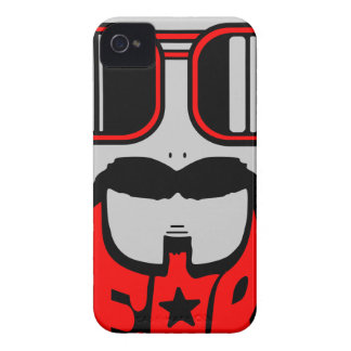 Capa Para iPhone barba vermelha