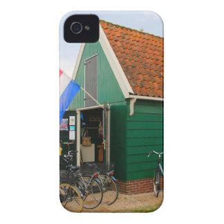 Capa Para iPhone Bicicletas, vila holandesa do moinho de vento,