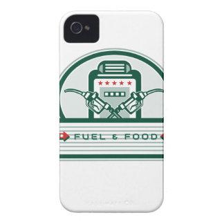 Capa Para iPhone Bomba de gás cruzada do bocal de combustível retro