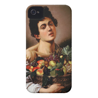 Capa Para iPhone Caravaggio - menino com uma cesta de trabalhos de