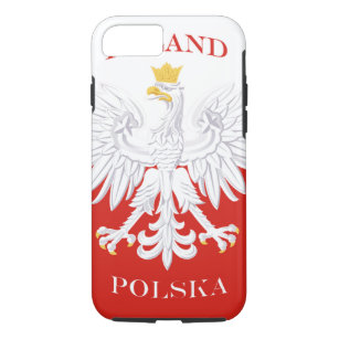 7c68f39ba2 Capa iPhone 8  7 Bandeira polonesa do Polônia