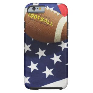 Capa Tough Para iPhone 6 Futebol americano com a bandeira dos E.U. de982d2f7b229
