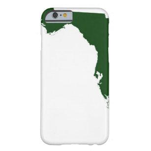 Capa Barely There Para iPhone 6 Mapa de Florida 3