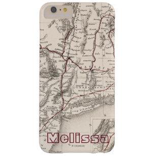 Capa Barely There Para iPhone 6 Plus Mapa: EUA do nordeste