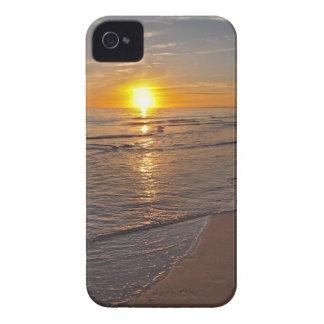 Capa Para iPhone Caso: Por do sol pela praia