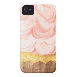 Capa Para iPhone cupcake cor-de-rosa