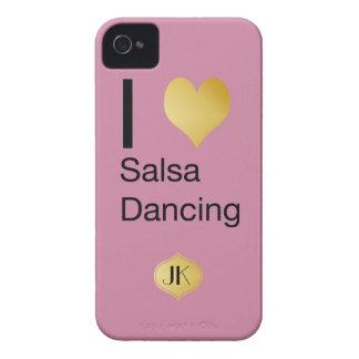 Capa Para iPhone Dança Playfully elegante da salsa do coração de I