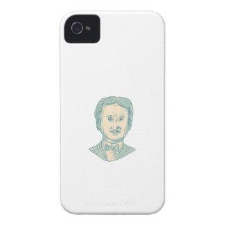 Capa Para iPhone Desenho do escritor de Edgar Allan Poe