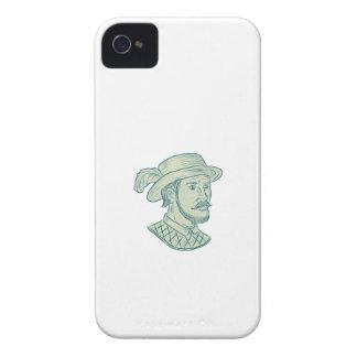 Capa Para iPhone Desenho do explorador de Juan Ponce de Leon