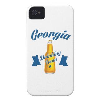 Capa Para iPhone Equipe do bebendo de Geórgia