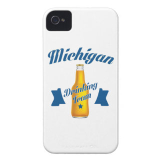 Capa Para iPhone Equipe do bebendo de Michigan